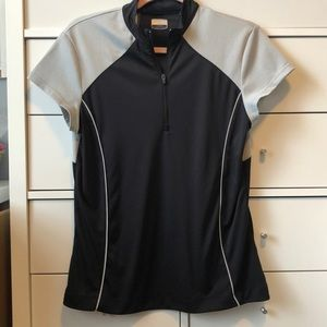 Callaway Golf Shirt Black Grey size Large